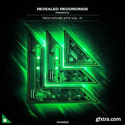Revealed Recordings Revealed Tech House Kits Vol 1 WAV MIDI