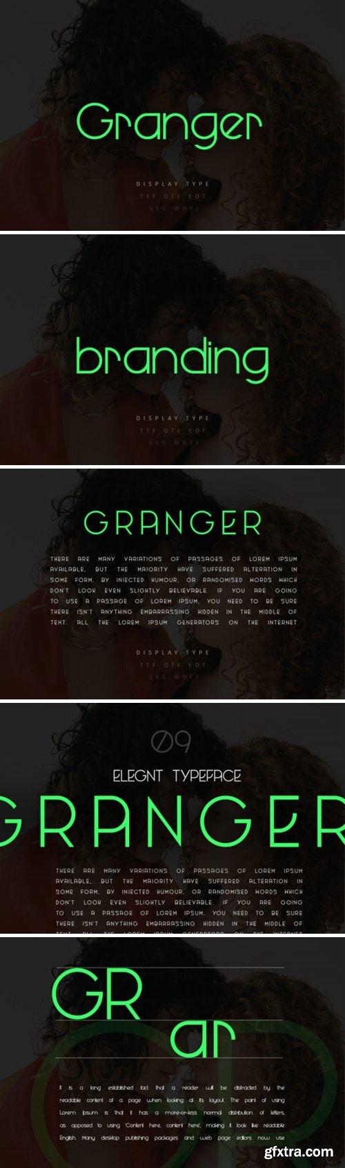 Granger Font