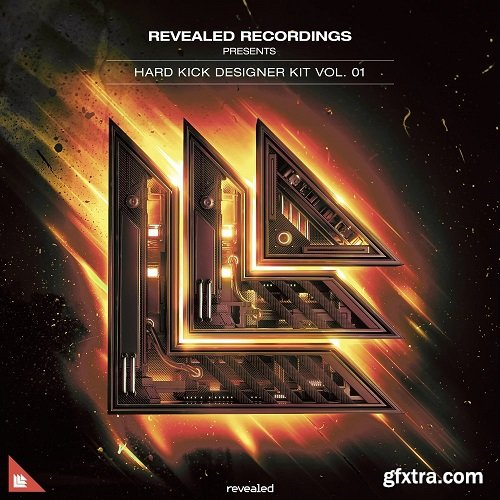 Revealed Recordings Revealed Hard Kick Designer Kit Vol 1 WAV