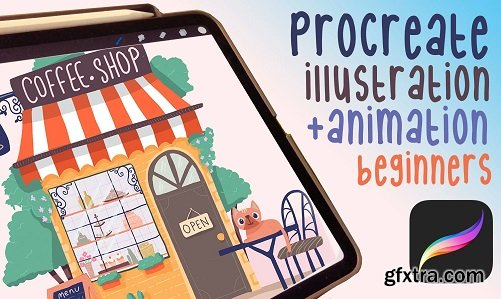 illustrate and Animate with Procreate for beginners   Boost your imagination !