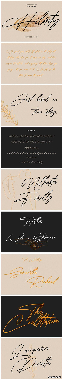 Hilority Font