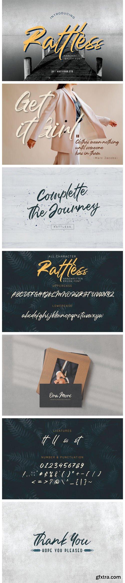 Rattless Font