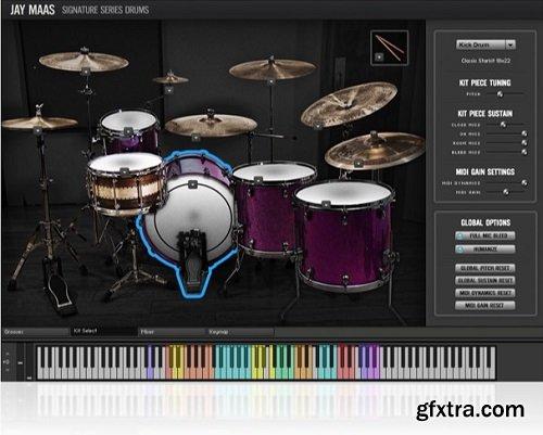 Room Sound Jay Maas Signature Series Drums 2.0 KONTAKT