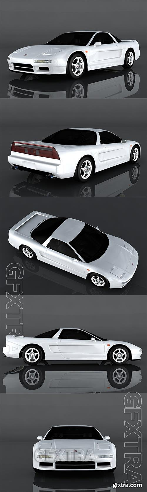 1992 Honda NSX 3D Model o93213