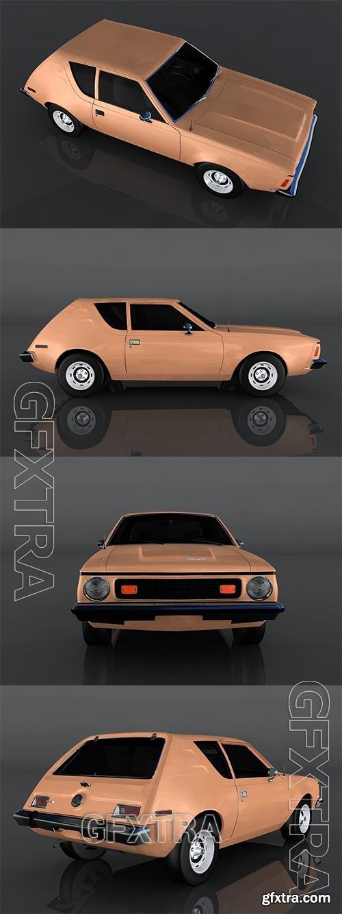 1973 AMC Gremlin 3D Model o93259