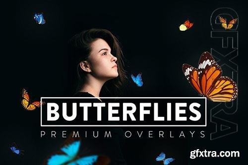 30 Butterflies Overlay