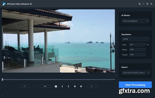 AVCLabs Video Enhancer AI 2021.0.9 Multilingual