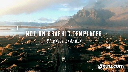 Matti Haapoja - Cinematic Motion Graphic Templates for Premiere Pro