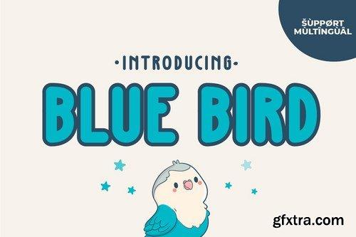Blue Bird - Cute Handwriting Font