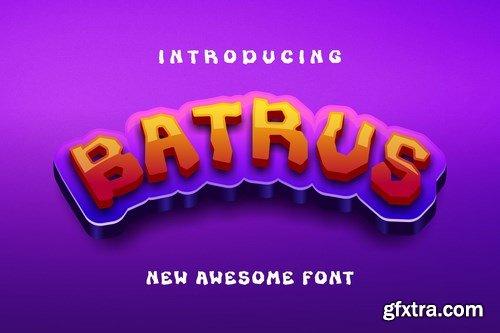 Batrus Font