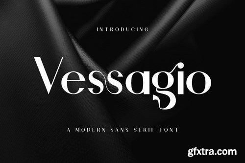 Vessagio - Advertisement Font