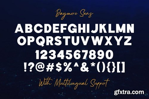 Daymore Font Duo