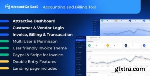 CodeCanyon - AccountGo SaaS v3.4 - Accounting and Billing Tool - 25733019 - NULLED