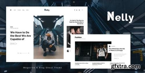 ThemeForest - Nelly v1.0 - Blog and Magazine Ghost Theme - 33979485