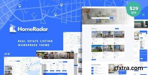 ThemeForest - HomeRadar v1.0.4 - Real Estate WordPress Theme - 31832778