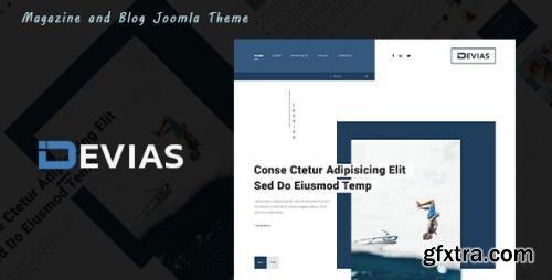 ThemeForest - Devias v1.0.0 - Blog and Magazine Joomla Theme - 33979381