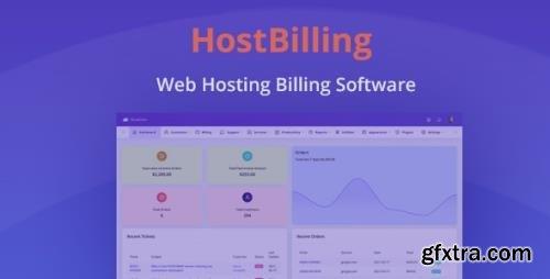 CodeCanyon - HostBilling v1.2.5 - Web Hosting Billing & Automation Software - 30610670 - NULLED