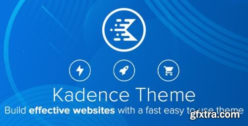 KadenceWP - Kadence v1.1.5 - WordPress Theme + Kadence Pro Add-On v1.0.3 - NULLED