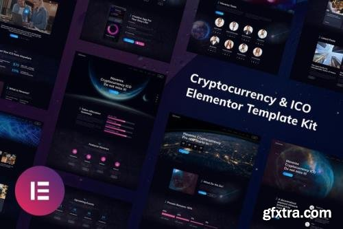 ThemeForest - Hoverex v1.0.0 - Cryptocurrency & ICO Elementor Template Kit - 32771497