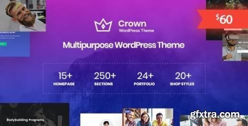 ThemeForest - Crown v1.0.4 - Multi Purpose WordPress Theme - 24344067