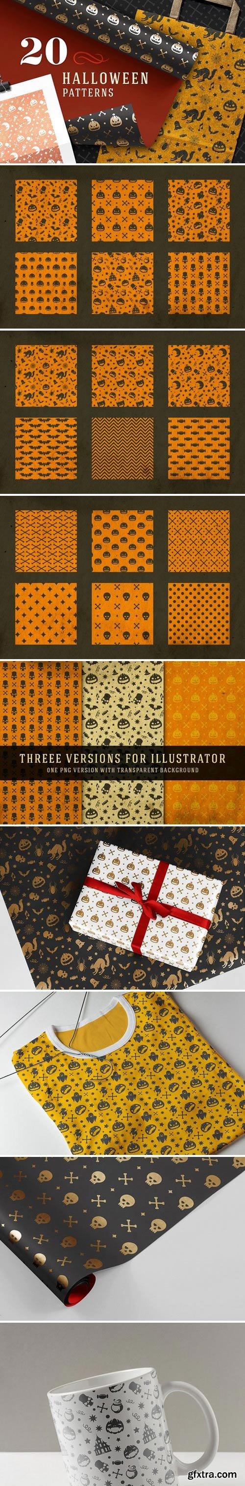 20 Halloween patterns