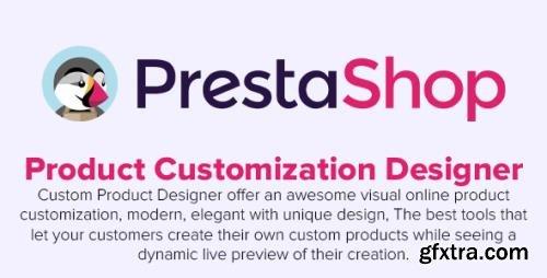 Product Customization Designer v3.1.5 - Custom Product Design PrestaShop Module