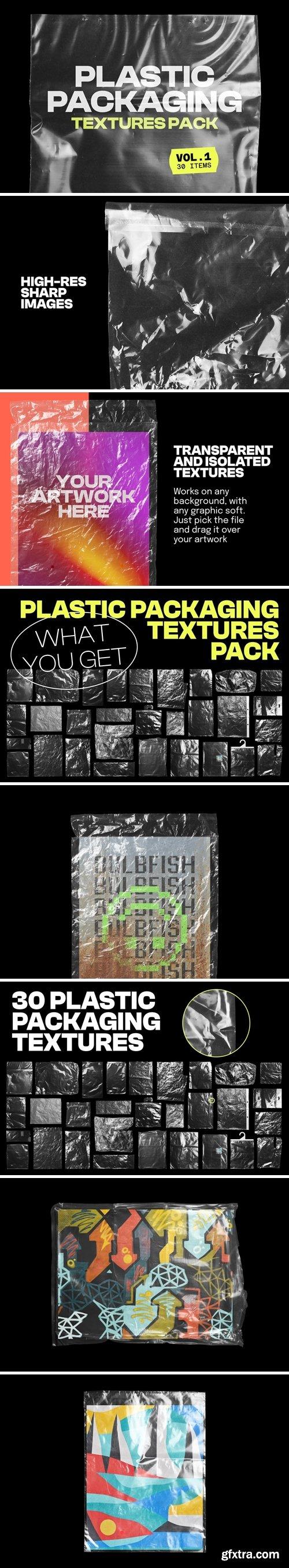 Plastic Packaging Vol.1 - 30 Textures Pack