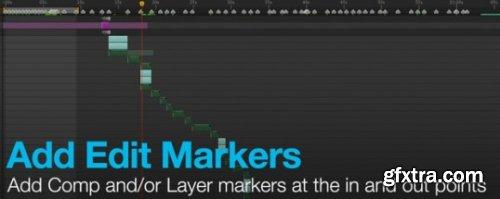 AEScripts Add Edit Marker v1.5