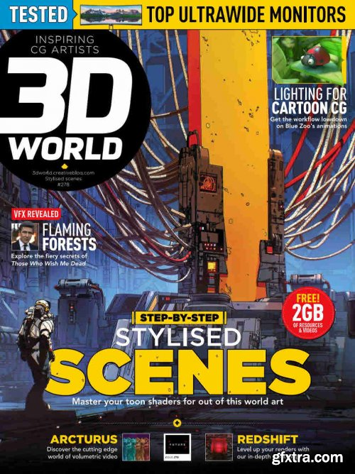 3D World UK - Issue 278, 2021