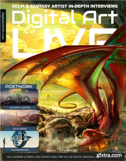 Digital Art Live - Issue 61, 2021