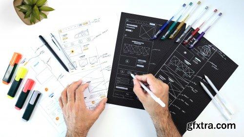 Paper Wireframes For UI/UX Design