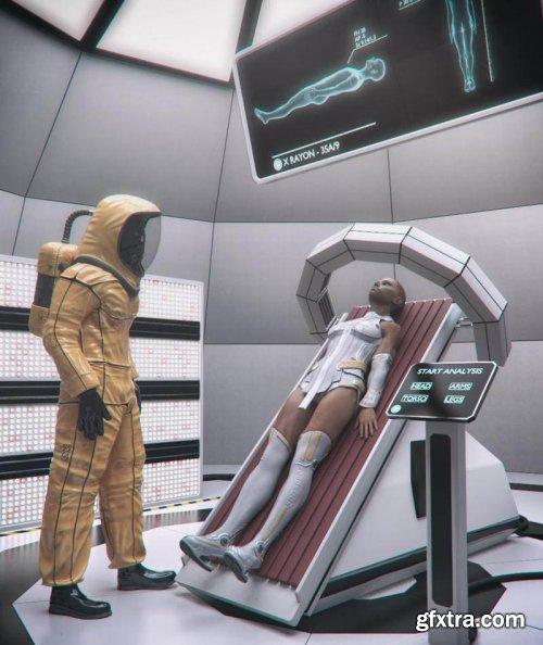 Sci-Fi Exam Room