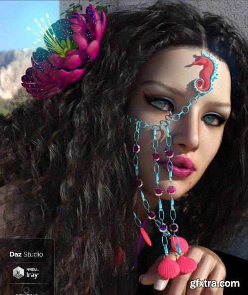 Flower Of Atlantis Outfit For Genesis 8 Female(s)