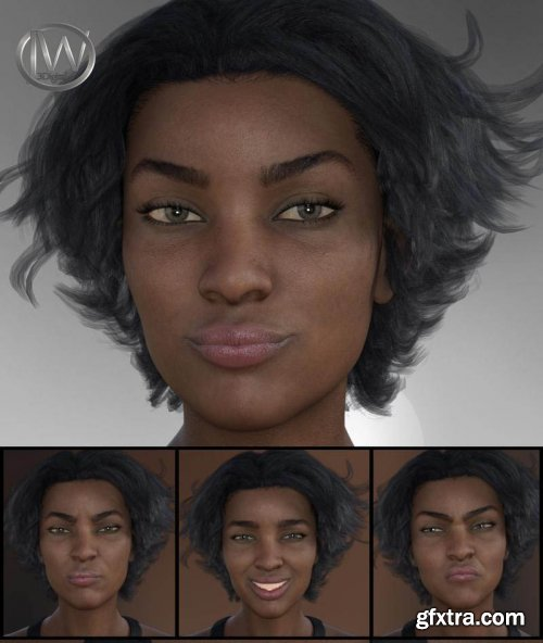 Strong Woman – Expressions for Monique 8