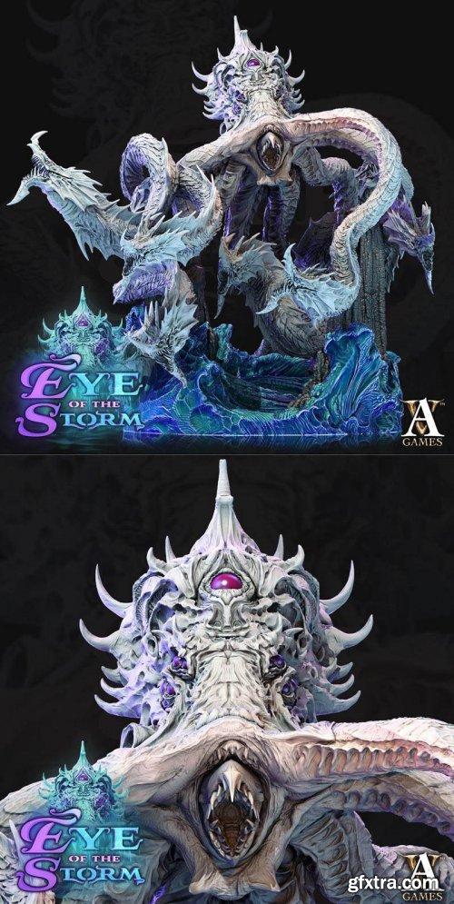 Sky kraken – 3D Print Model
