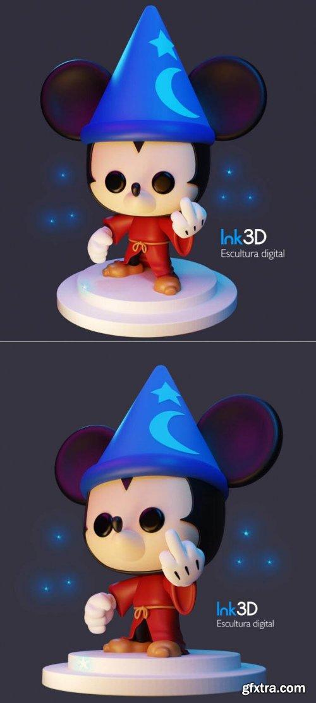Mickey Mouse Badass