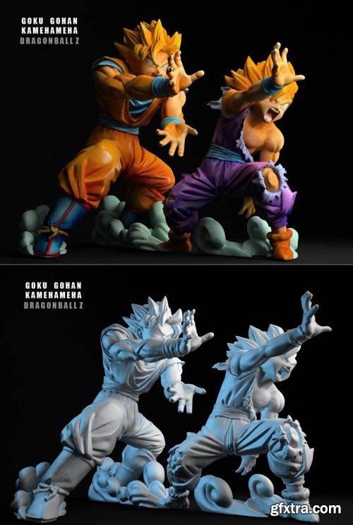 Goku Gohan Kameha
