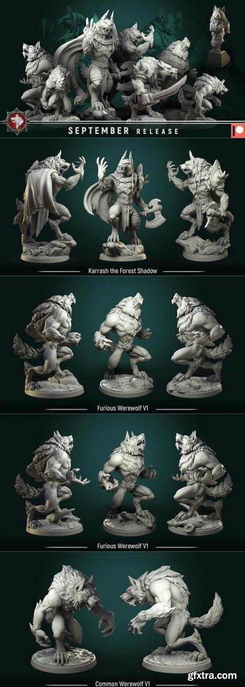 White Werewolf Tavern September