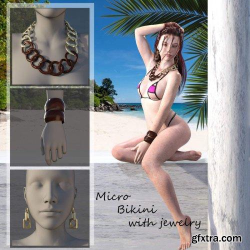 Sexy Micro Bikini & Accessories G8F