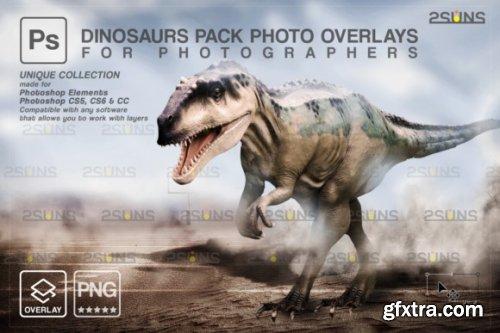 Dinosaur Backdrop: Photoshop Overlay