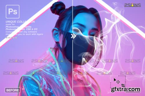 CreativeFabrica - Fog Overlay & Smoke Bomb Overlay