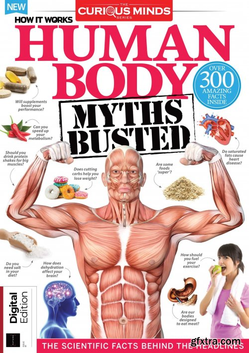 How it Works: Book of The Human Body - Curious Minds - Sixth Edition, 2021