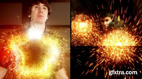 Adobe After Effects CC: Creating Sparks using Trapcode Particular