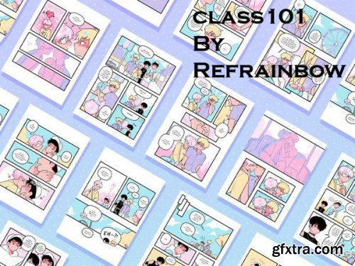 Class101 - Build Your Own Business with Original Characters and Compelling Webcomics