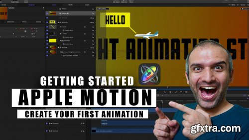 Get Started with Apple Motion: Your very first 3D Animation