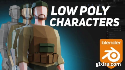 Blender - Render: Your first 3D game character