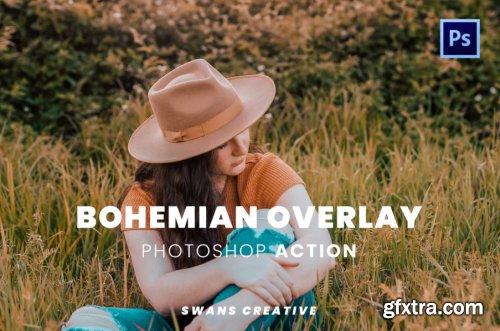 Bohemian Overlay Photoshop Action