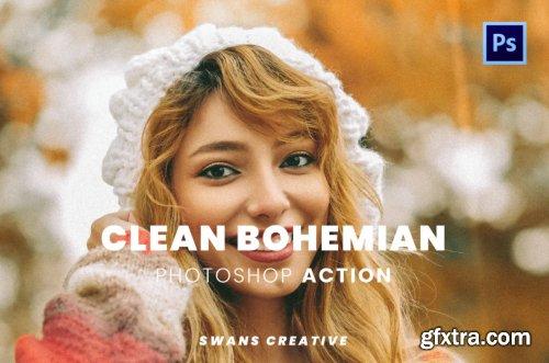 Clean Bohemian Photoshop Action