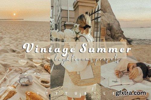 CreativeMarket - Film Grain VINTAGE SUMMER Presets 5452867