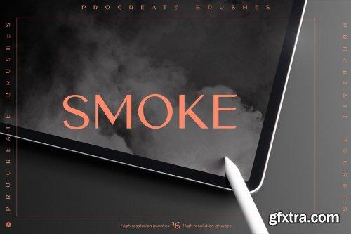 CreativeMarket - Smoke Procreate Brushes 6492851